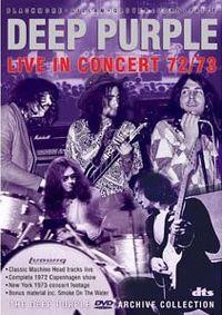 Cover Deep Purple - Deep Purple Live 72/73 [DVD]